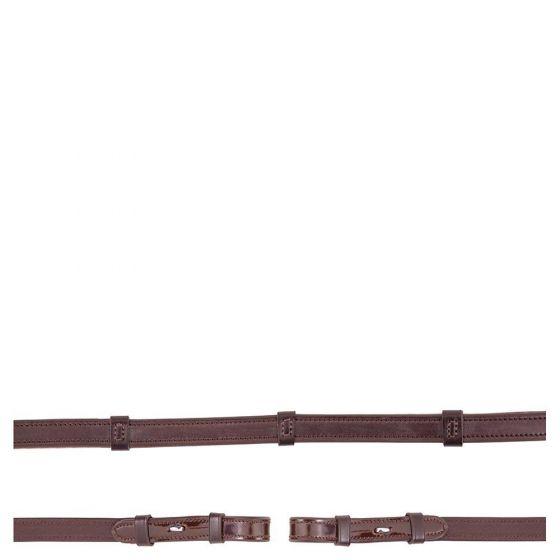 BR Teugel Anti-slip lakleer 16mm blind