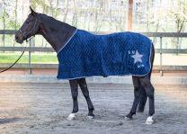 Harry's Horse Fleecedeken LouLou Ensign Blue