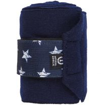 Bandage Star Icon Navy Full