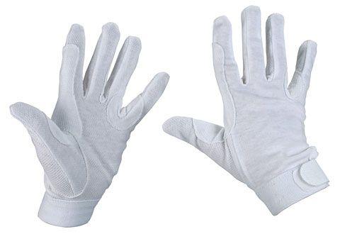 Hofman Rijhandschoen Katoen White XL