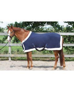 Harry's Horse Fleecedeken staatsiemodel met borstflap