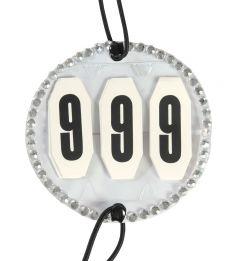 PFIFF hoofdnummers met strass-steentjes