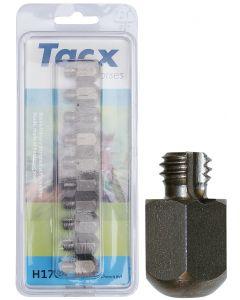 Harry's Horse Tacx RVS kalkoenen 3/8 17mm (10 st.) aantal