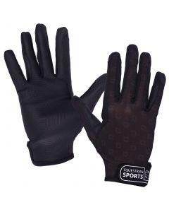 QHP Handschoen Solar mesh Zwart