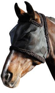 Harry's Horse Vliegenmasker zonder oren zwart