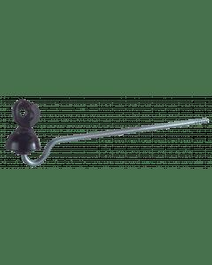 """Isolator Koord """"ideaal"""" steel 22 cm Zwart"""