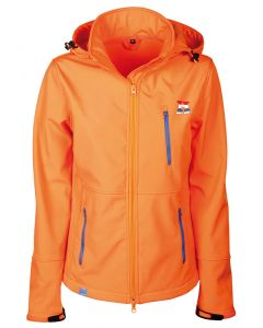 Harry's Horse Softshell jas Dutch Orange