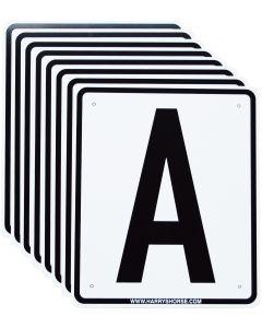 Harry's Horse Bakbordjes A,F,B,M,C,H,E,K