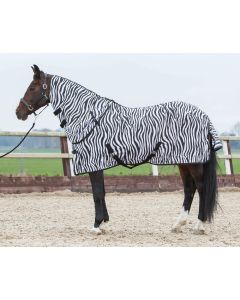 Harry's Horse Vliegendeken met losse hals, zebra