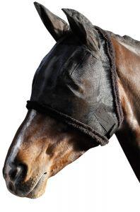 Harry's Horse Vliegenmasker met oren zwart