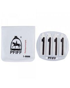 PFIFF Hoofdstelnummers 4 cijfers