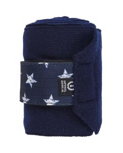 Bandage Star Icon Navy Full