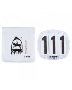 PFIFF Hoofdstelnummers 3 cijfers