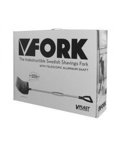 Hofman Vplast Mestvork kunststof met aluminum steel in een doos