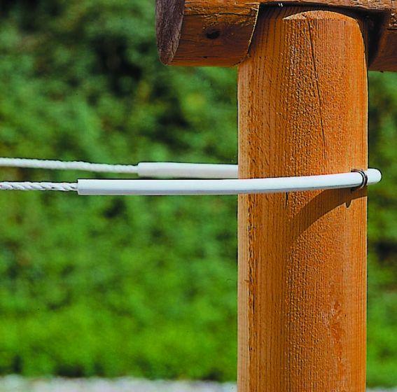 Hofman Isolator buis flexi wit tot 8 mm koord