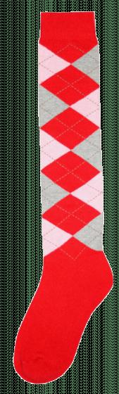 Excellent Kniekous RE rood/roze/grijs  43-46