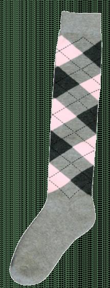 Excellent Kniekous RE l.grijs/d.grijs/roze  43-46